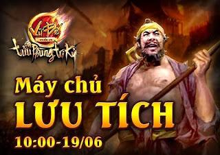 Game chiến thuật Vũ Đế khai mở máy chủ Lưu Tích