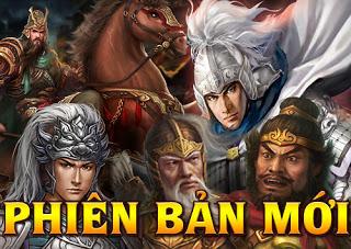 Web game chiến thuật Vũ Đế ra mắt phiên bản mới